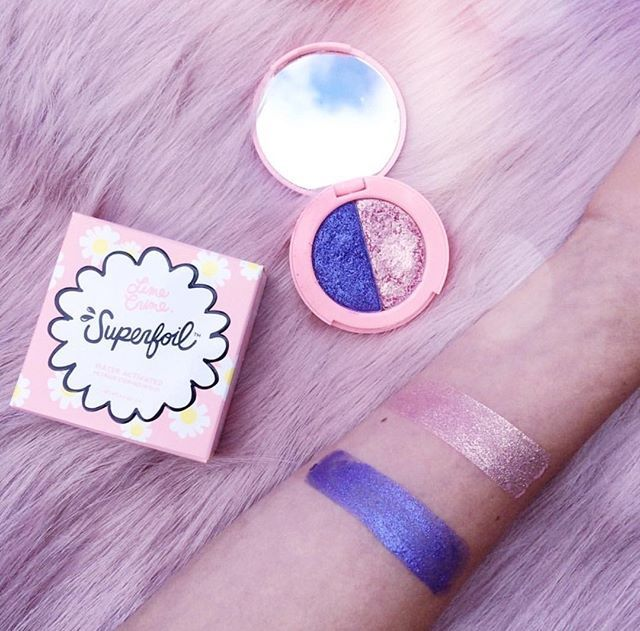 'Tutu/En Pointe' swatched by @amethystblanc  Shop all #Superfoils shades now on limecrime.com #limecrime