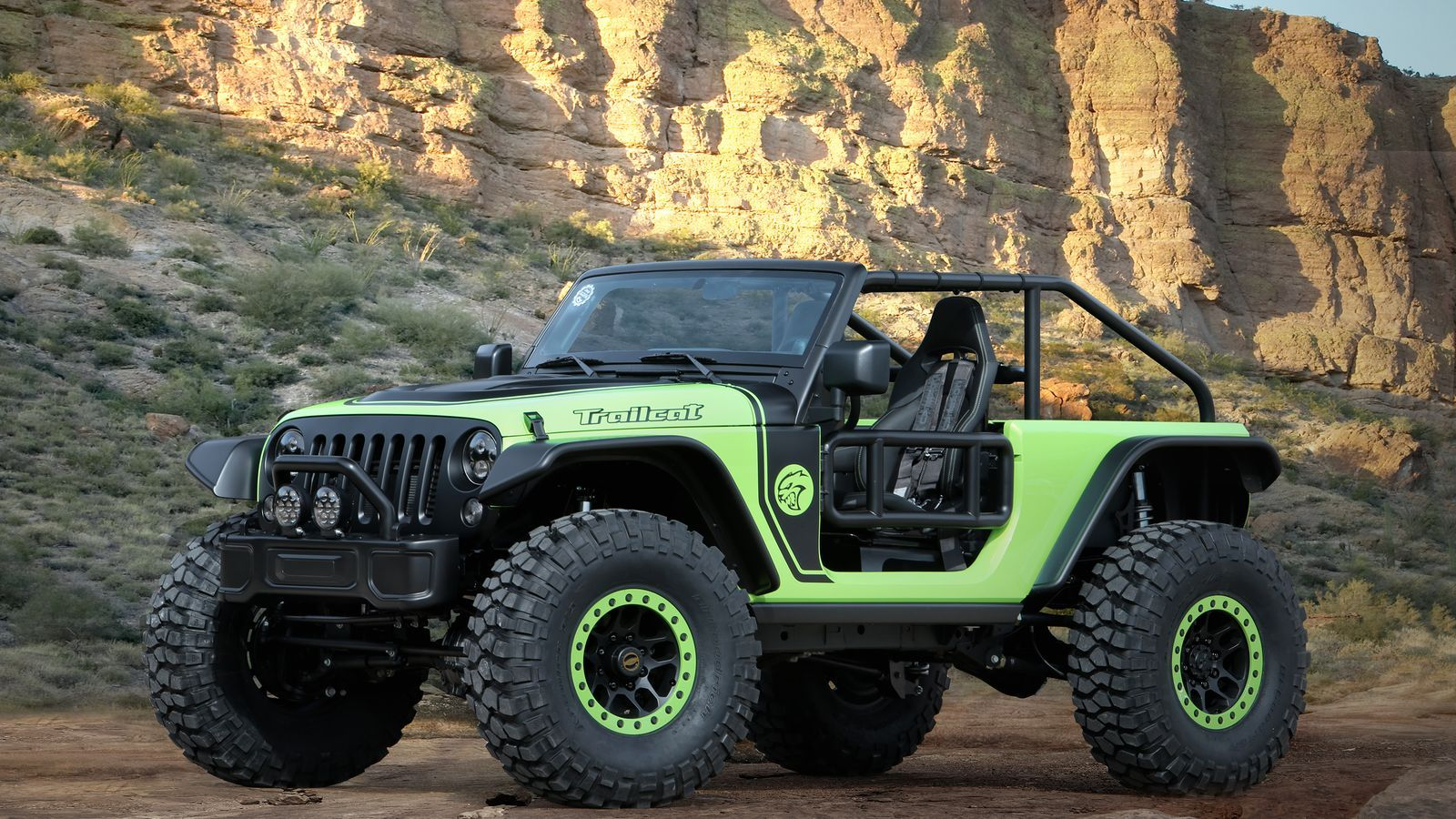 Jeep Stuffed A 707 Horsepower Engine In A Wrangler Just For Fun