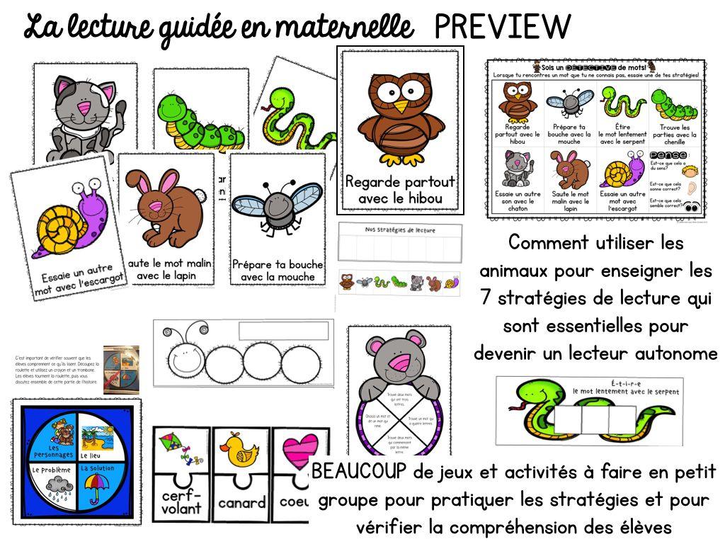 La Lecture Guidee En Maternelle
