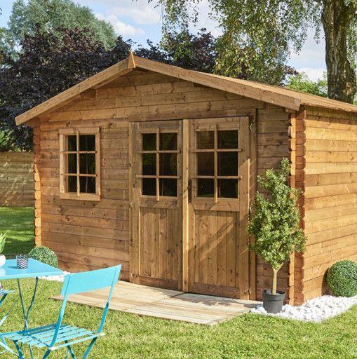 Comment monter une cabane en bois dans son jardin - Comment monter une serre de jardin ...