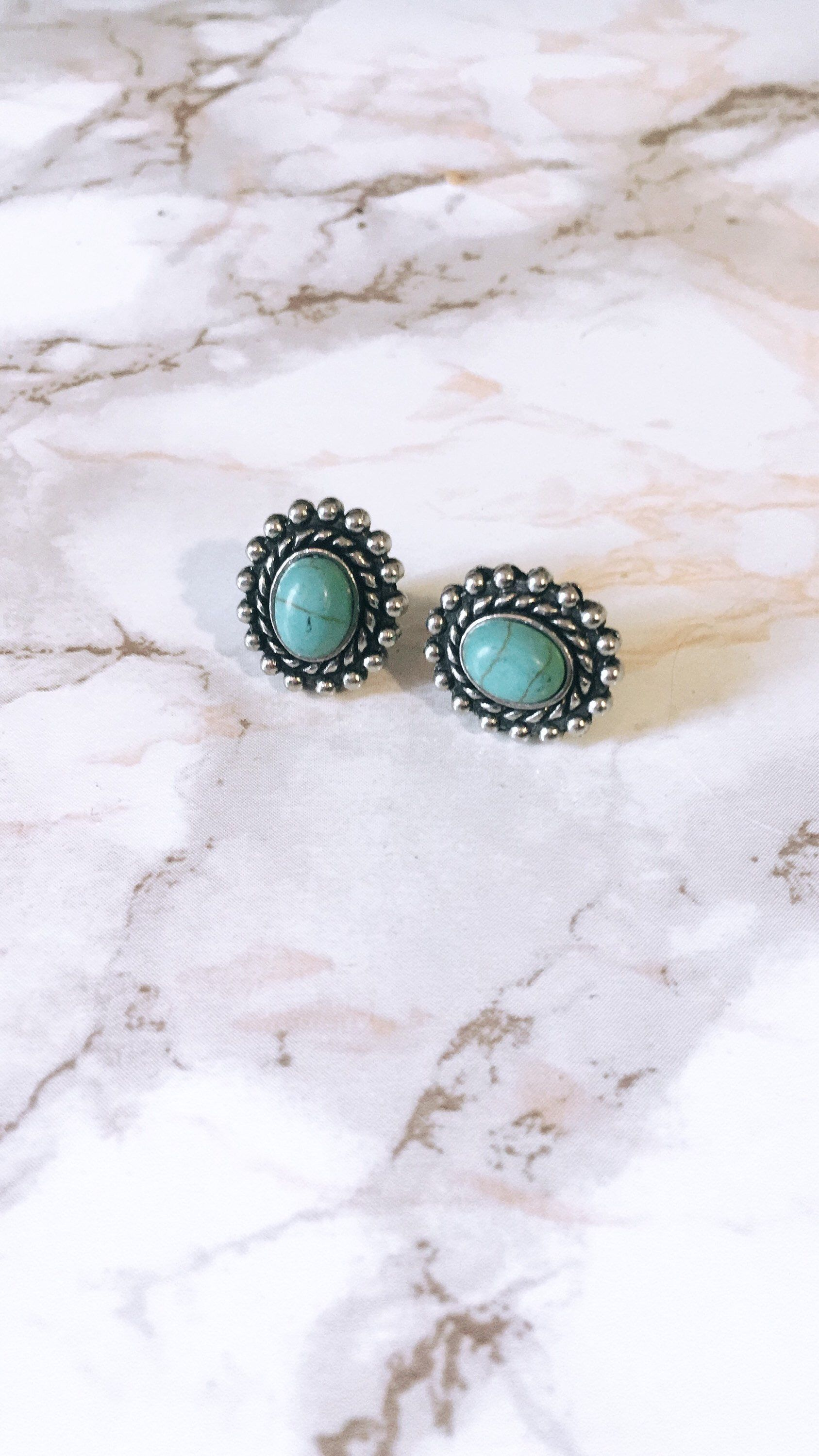 archives oval december stud studs turquoise product category birthstones silver