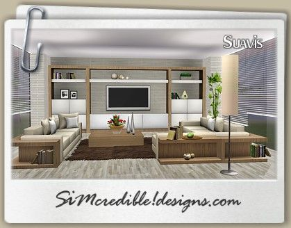 Simcredible designs 3 top quality content for sims - Best quality living room furniture ...