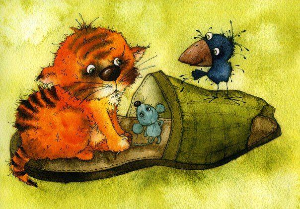 Картинки (животные) | Самые милые животные, Иллюстрации ...