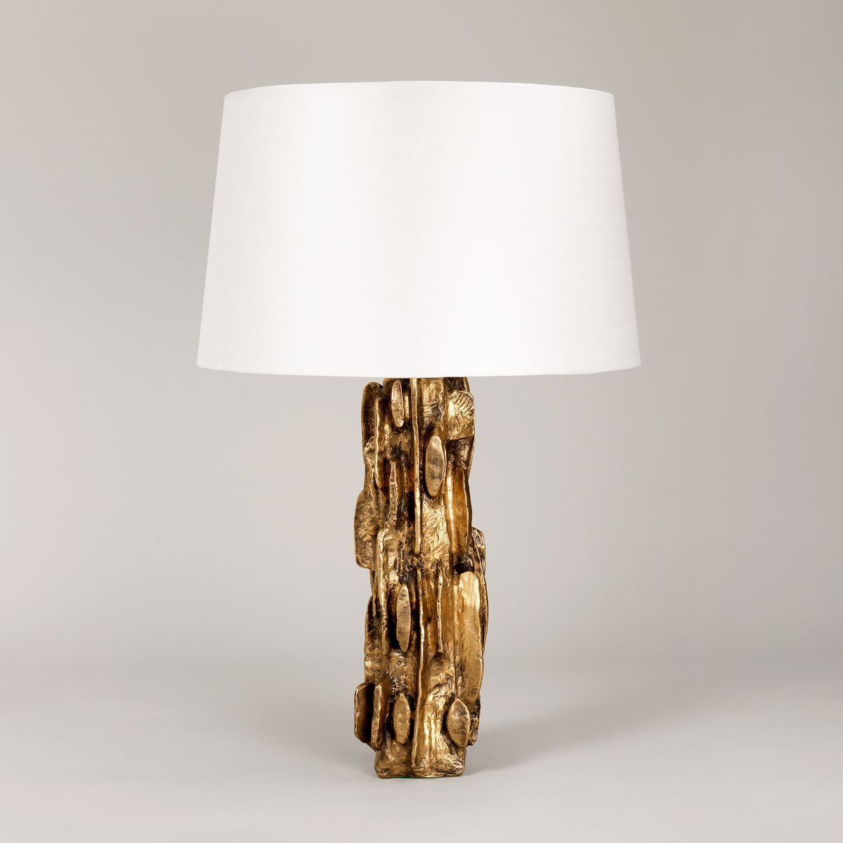 Montana Sculptural Table Lamp Vaughan Designs (With