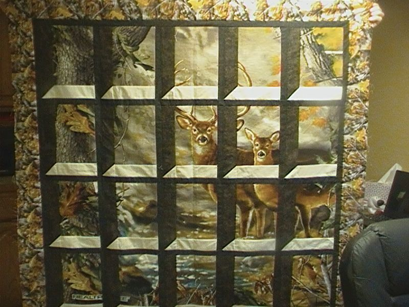 Attic Window Deer Quilt Top Quilts That I Like