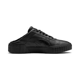 Puma Cali Mule Women S Trainers In Black Metallic Gold Size 3 5 Puma Cali All Black Sneakers Elastic Laces