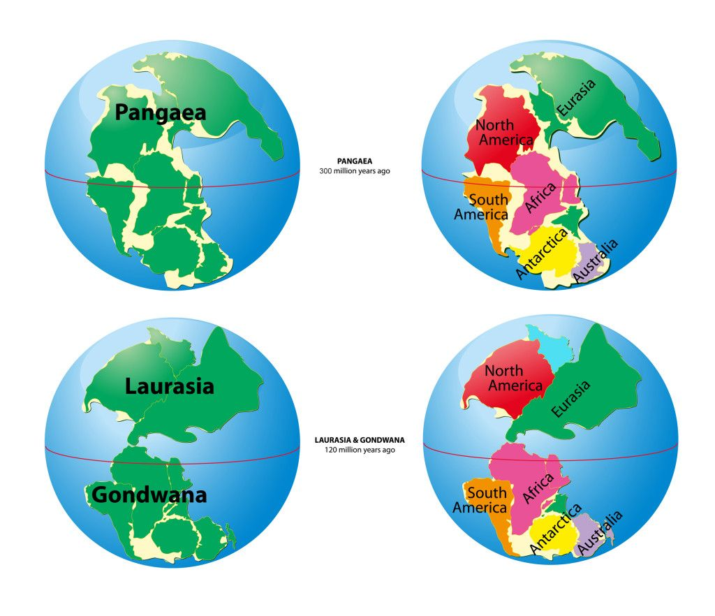 Ancient Supercontinents