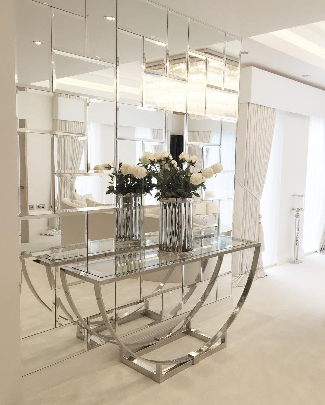 Pareti A Specchio Design specchio corridoio   Дизайн дома, Декор прихожей, Зеркальная