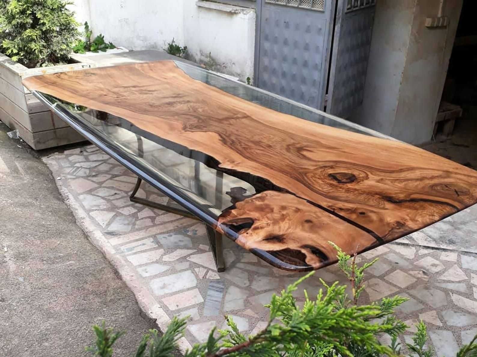 Custom Order For Raymond From Malaysiaconference Table Etsy Resin Table Dining Table Wood Resin Table