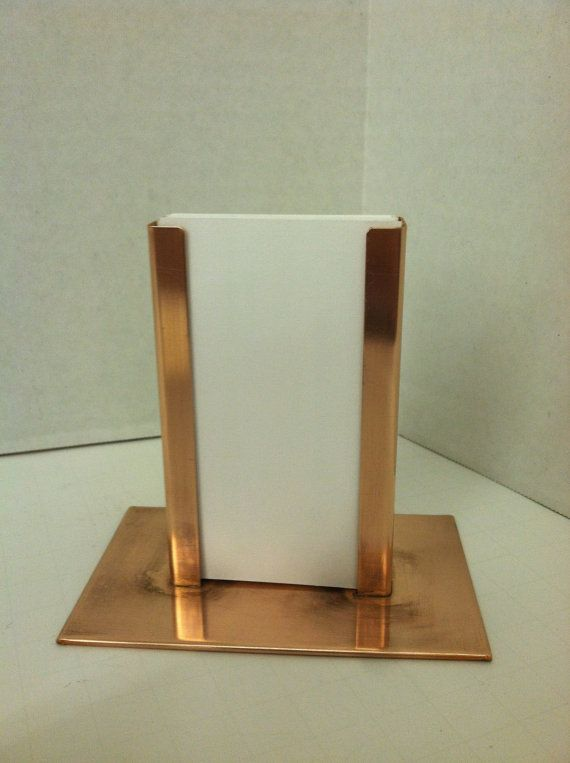 Modern vertical raw copper business card holder pinterest raw copper vertical business card holder by yanceylighting on etsy 1500 rachelblindauer colourmoves