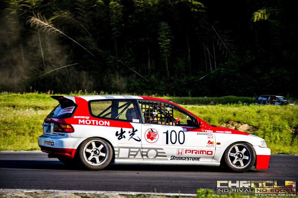 This Eg6 Civic Bears A Scheme That Is Nearly Identical To The Idemitsu Motion Group A Civic Race Cars From The 80s Civic Civic Eg Honda Civic