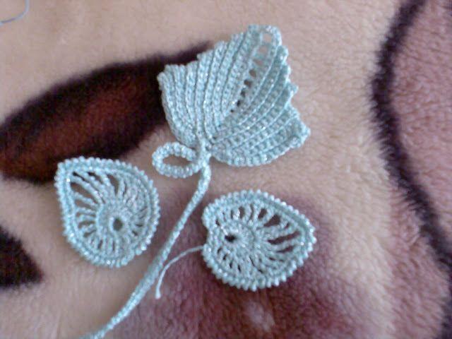 foglie | patrones | Pinterest | Crochet irlandés, Punto de crochet y ...