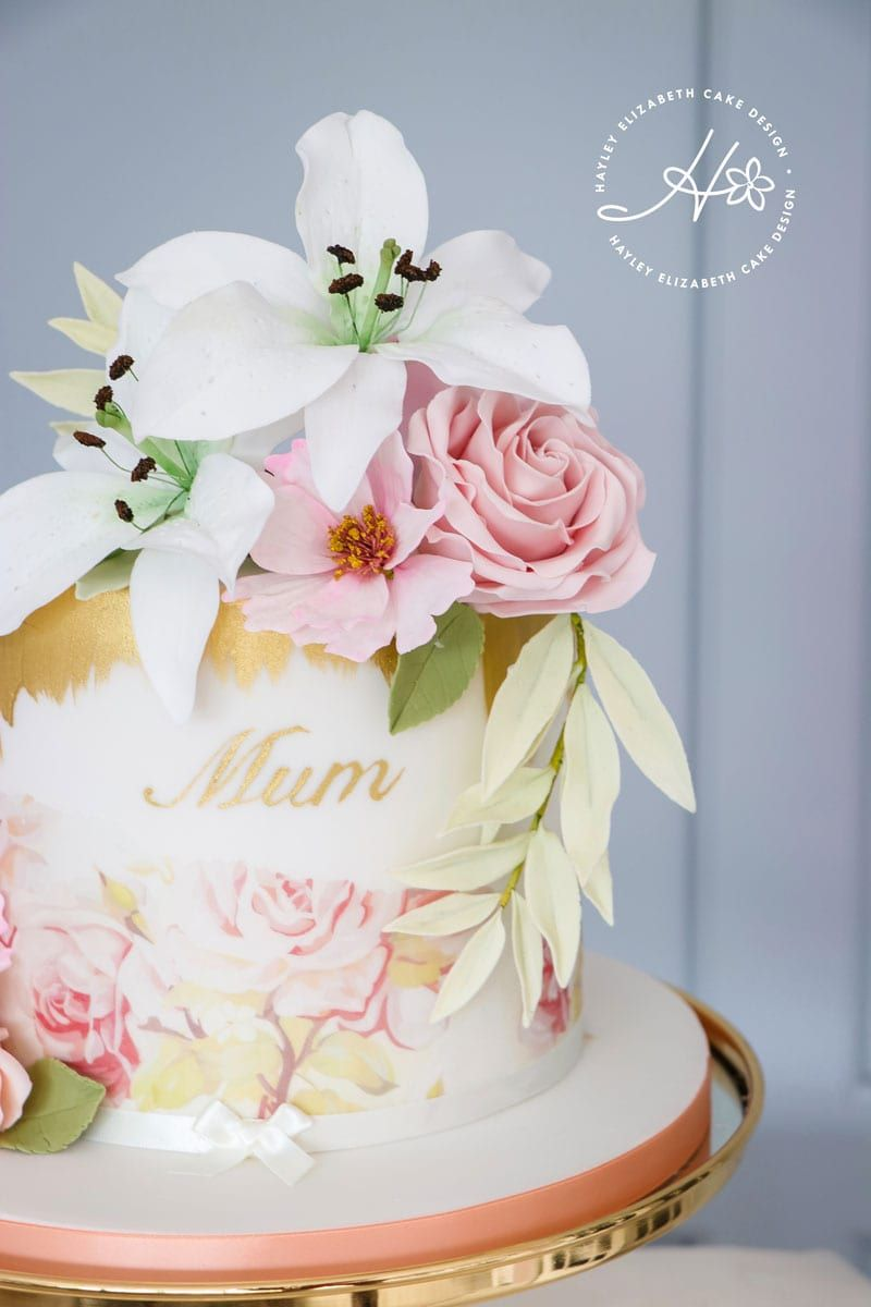 Awe Inspiring Celebration Cakes By In 2020 Mothers Day Cakes Designs Elegant Personalised Birthday Cards Cominlily Jamesorg