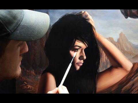 FRENCH - Tutoriel peinture : Peindre des tons de chair - YouTube
