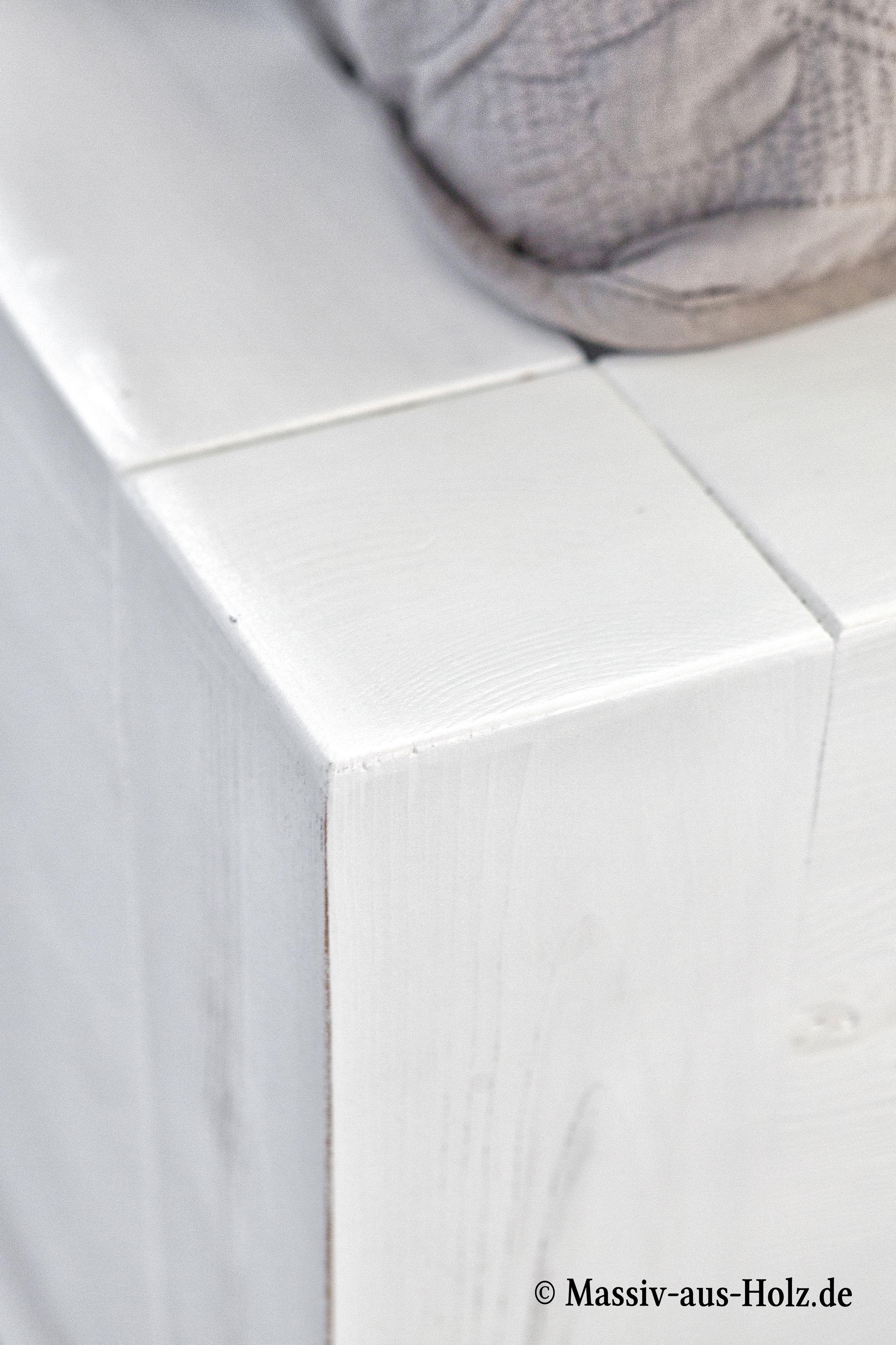 Auf Spuren skandinavischer Schlichheit – gewischte weiße ...