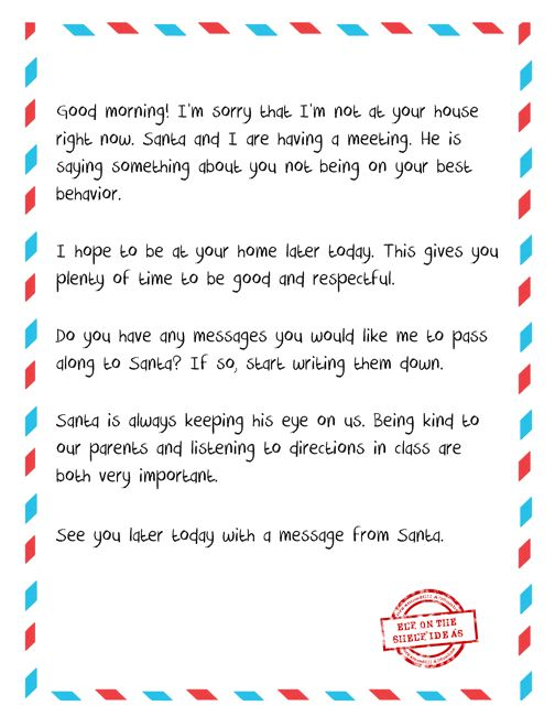 Elf On The Shelf  Page Printable Pack  Elves Free Printable And
