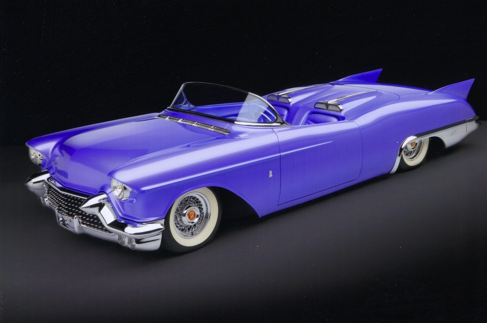 """1957 Caddy """"Purple Passion"""" by RD"""