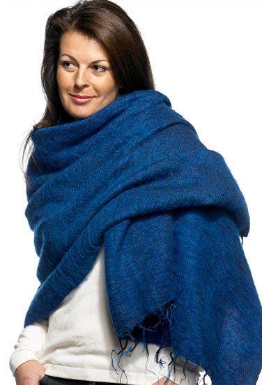 Nepalese Yak Shawls - Blue Turquoise   Melange de couleur, Le froid ... e8df5697786