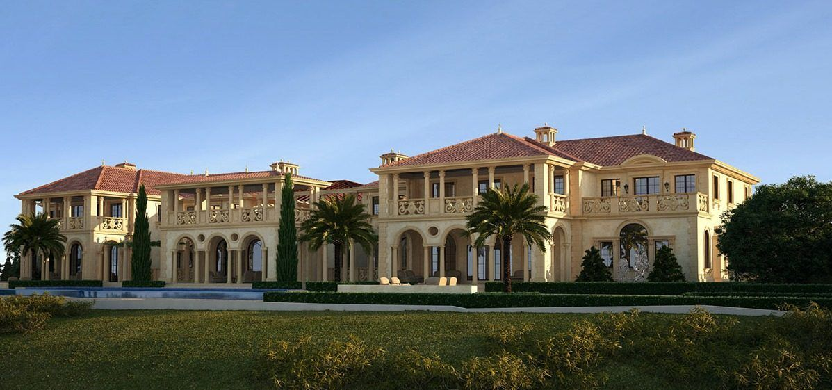 The Oc S Biggest House Is Being Built Right Now In Newport Mansions Mega Mansions Big Houses