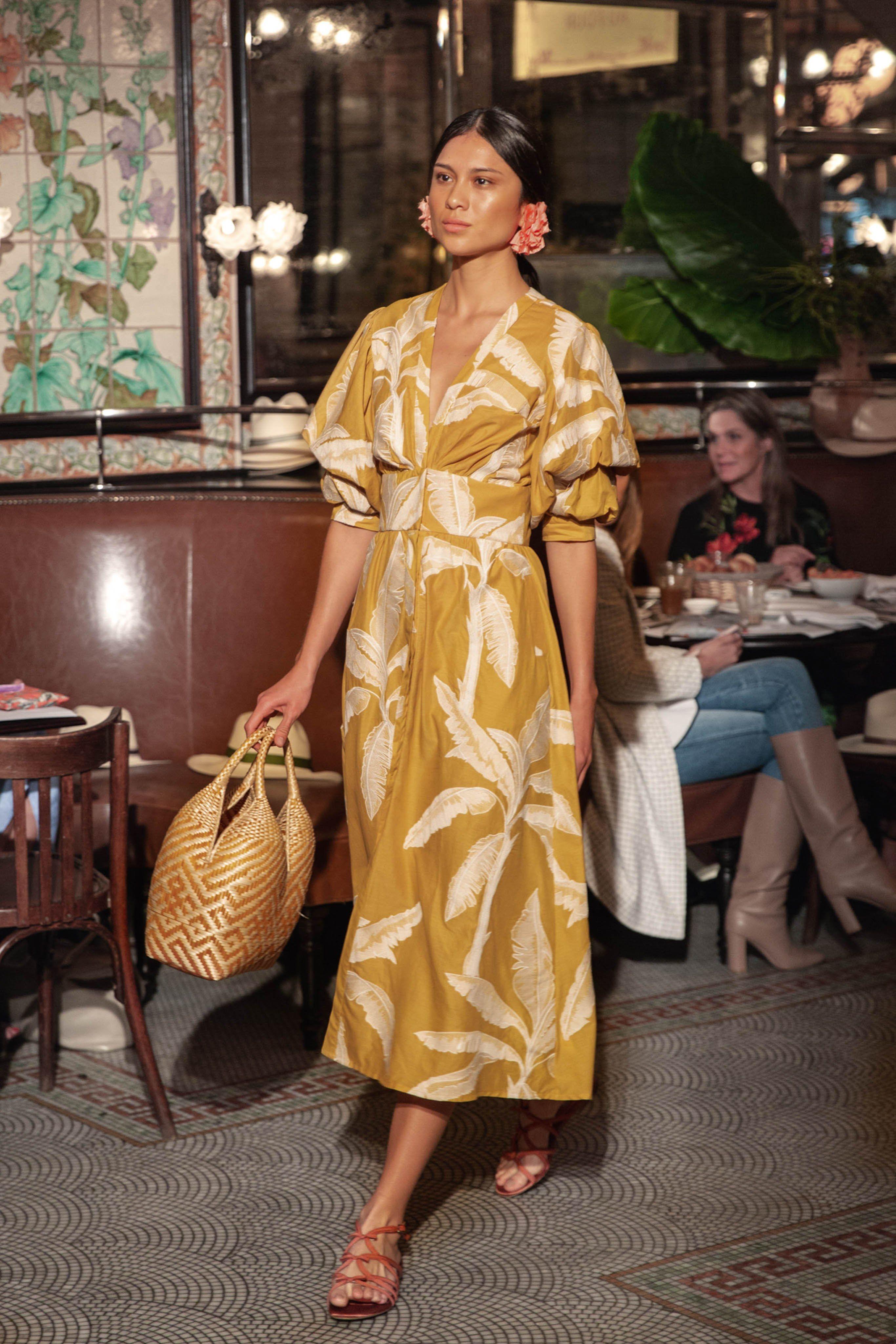 fe68e34f27 Johanna Ortiz Resort 2019 New York Collection - Vogue Summer Maxi Dress  Outfit