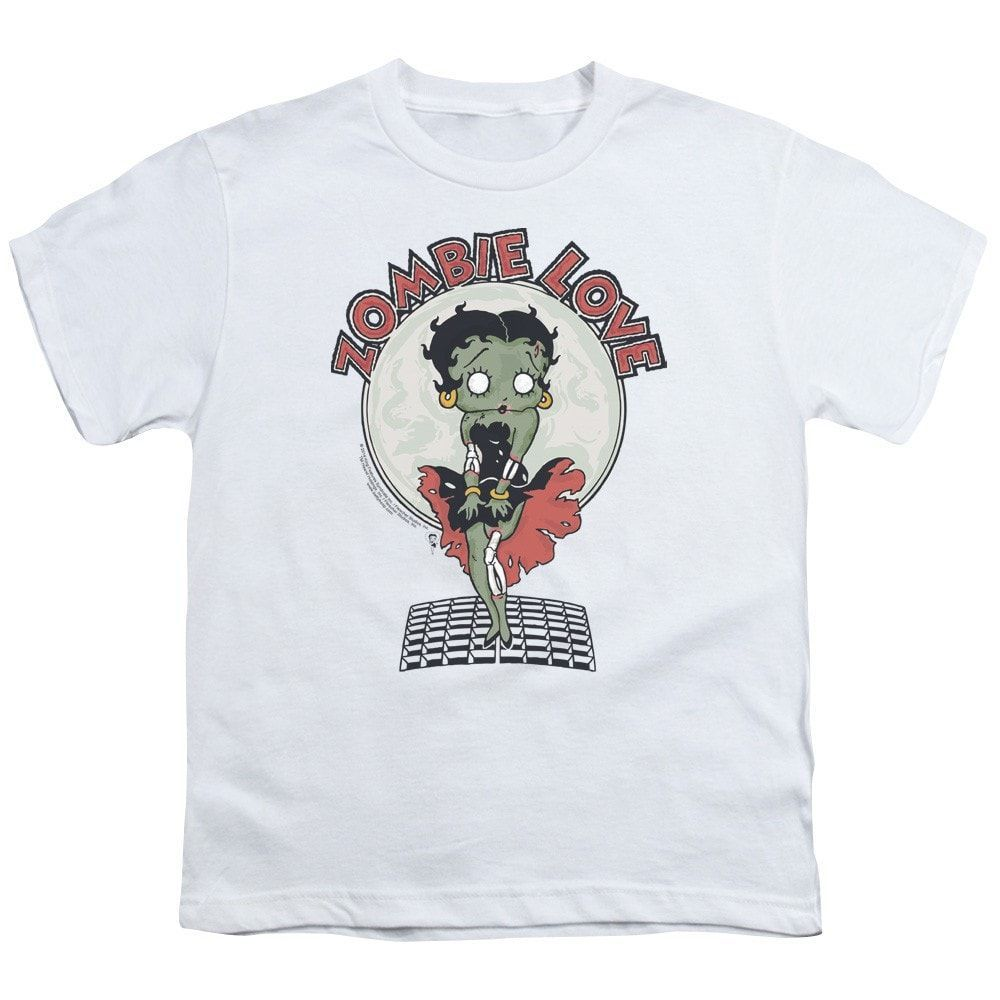 Betty Boop - Breezy Zombie Love Youth T-Shirt