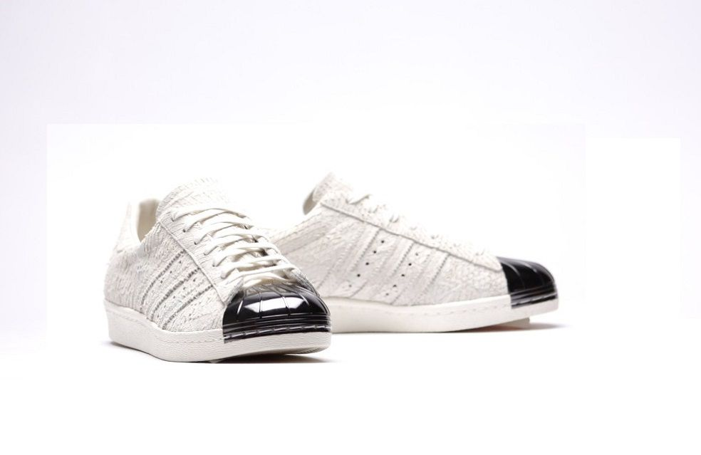 ADIDAS ORIGINAL SUPERSTAR 80s \u201cSILVER TOE\u201d The Adidas superstar is a  classic model that
