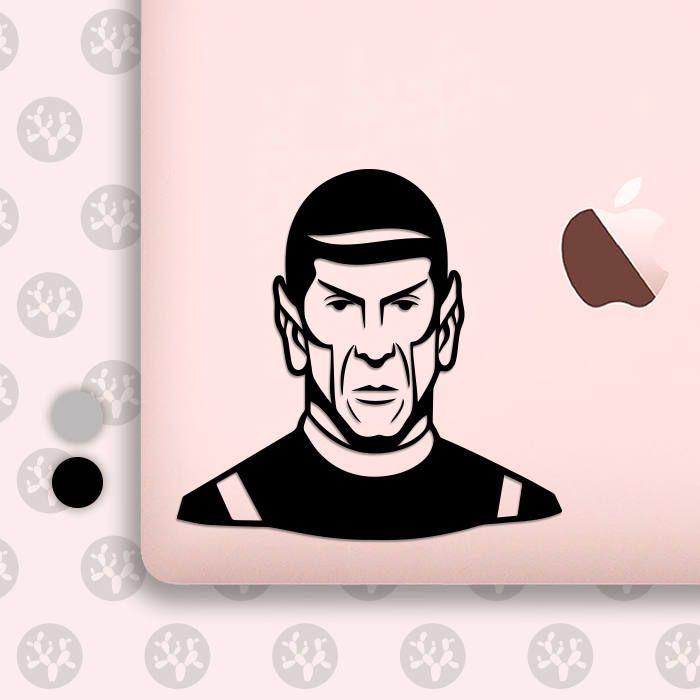 Spock spock decal spock sticker star trek decal star trek spock