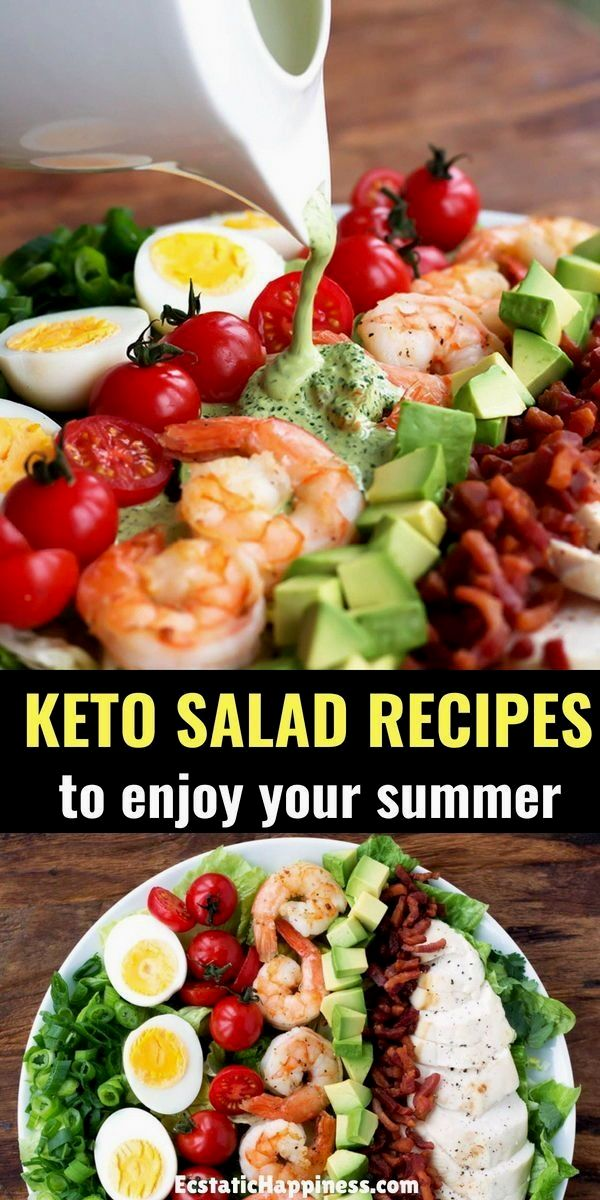 Try these healthy & easy keto salad recipes for perfect