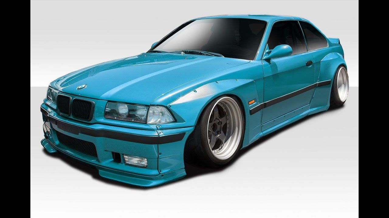 The Best Modification For Bmw 3 Series M3 E36 Fender Flares Bmw 3 Series Body Kit