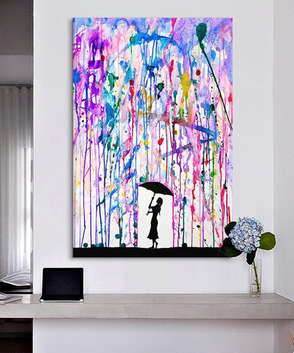 Look at this Marc Allante Deluge Gallery-Wrapped Canvas on #zulily today!