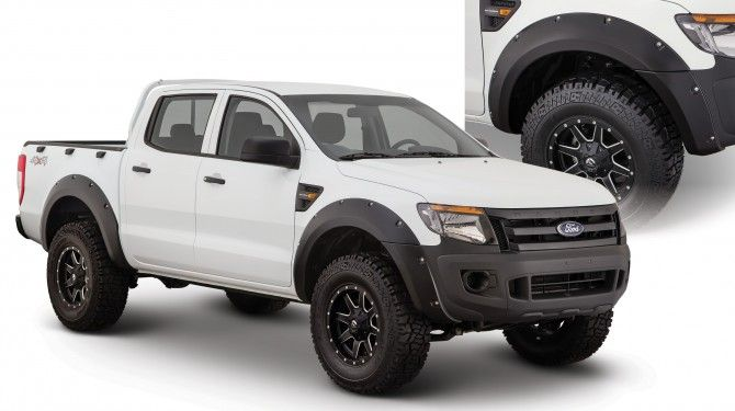 our new ford ranger t6 accessories include our pocket style fender flares and ultimate bedrail - Ford Ranger 2014 Lifted
