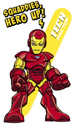 Iron Man Iron Man Superhero Man