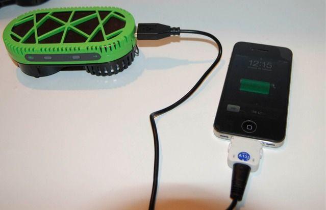 Cargador portatil que funciona con H2O