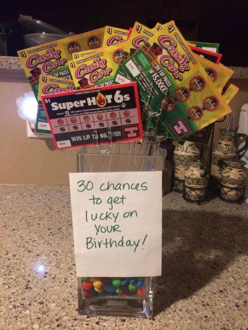 10 Unique 30 Birthday Ideas For Him