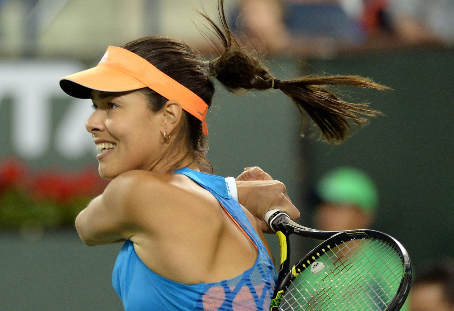 #11-Seed Ana Ivanovic lost in straight sets to #17-Seed Sloane Stephens in 3rd rd of the BNPP Open. 3/10/14