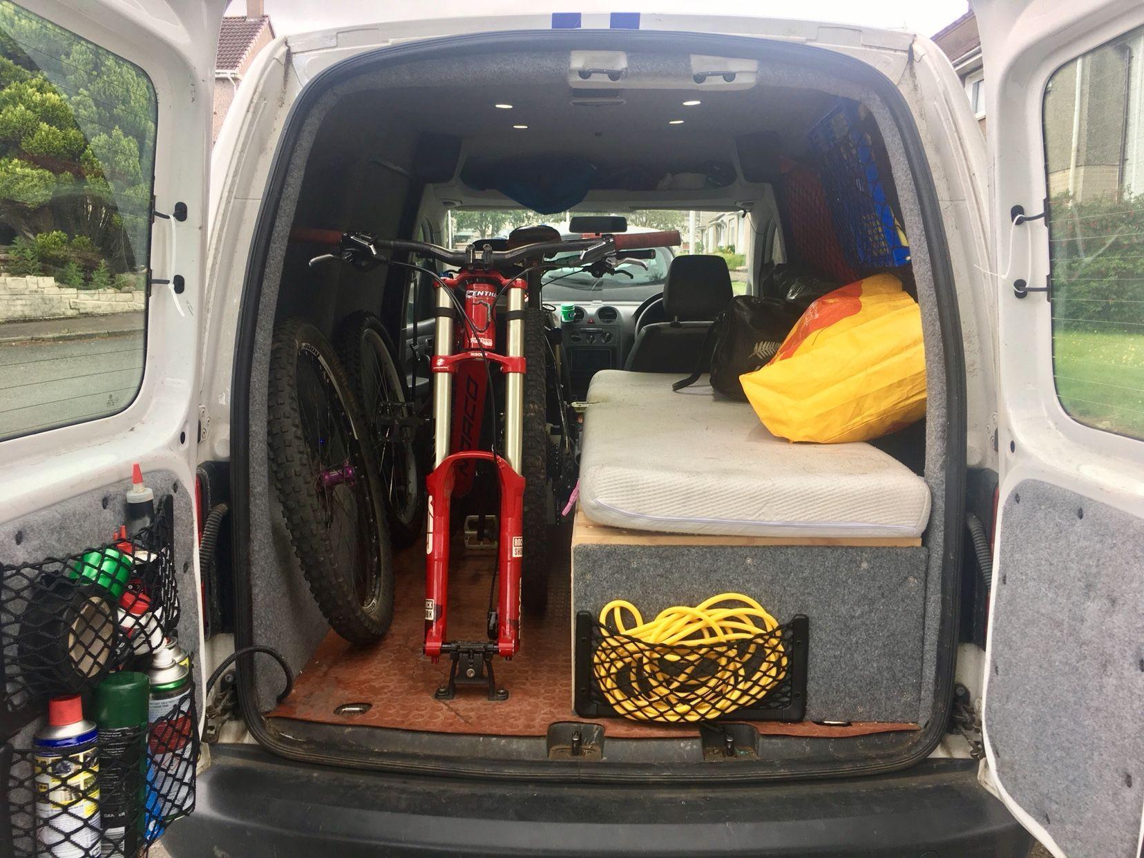 Image Mtbvan Caddy Van Bicycle Workout Caddy
