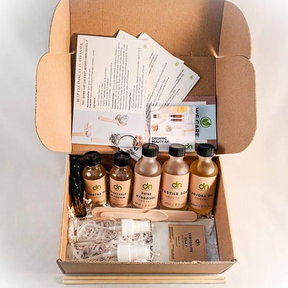 Diy Organic Beauty Box Make Your Own Natural Skin Care Products
