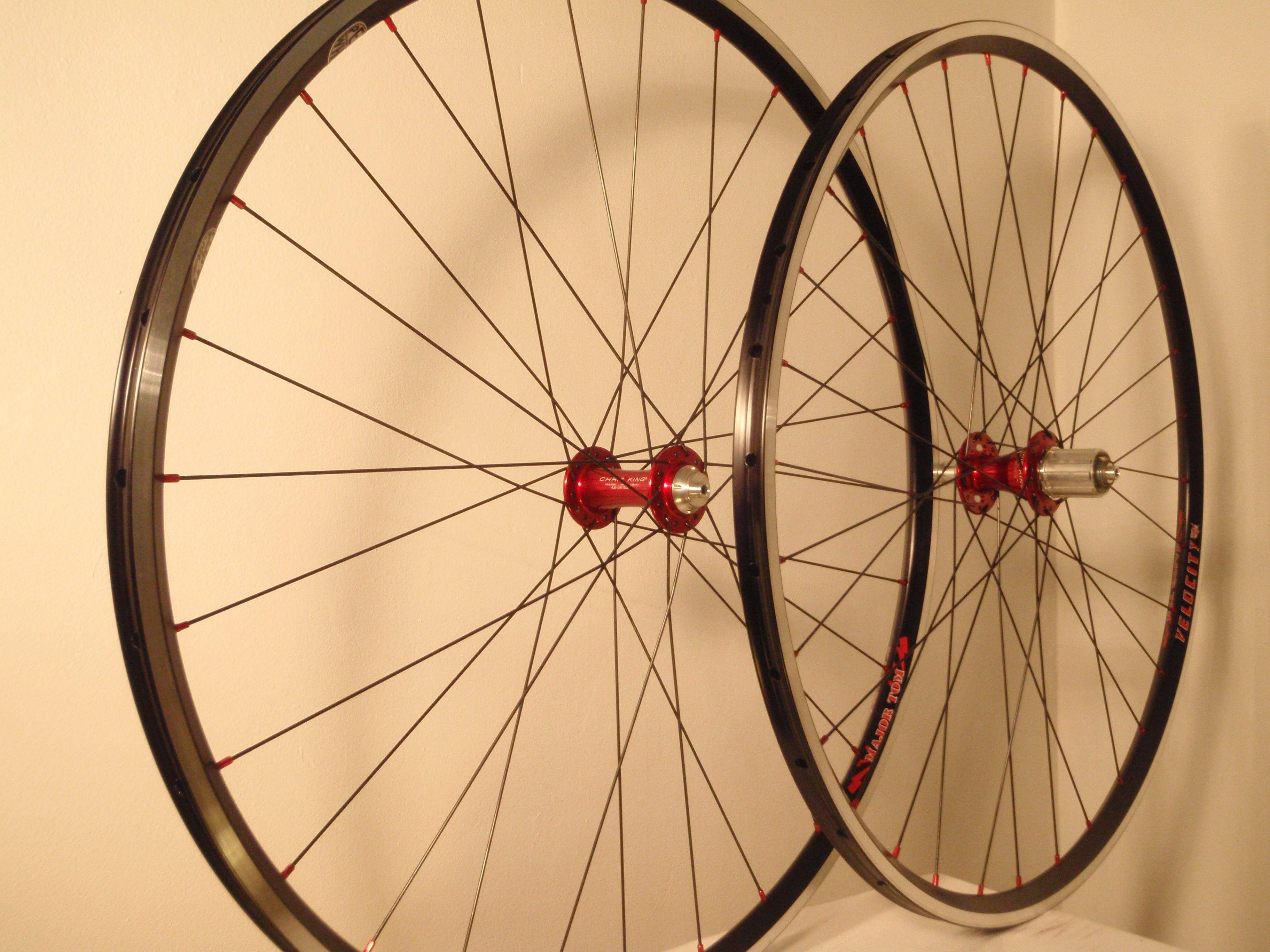 Chris King tubular cyclocross wheelset   Custom wheels