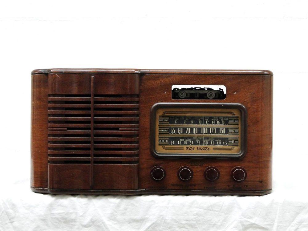 1940s Rca Victor 16t4 Ch Rc 509 Wood Case 6 Tube Radio Tablemodel Parts Restore Rcavictor Rca Victor Vintage 1940 Wood Case Restoration Marshall Speaker