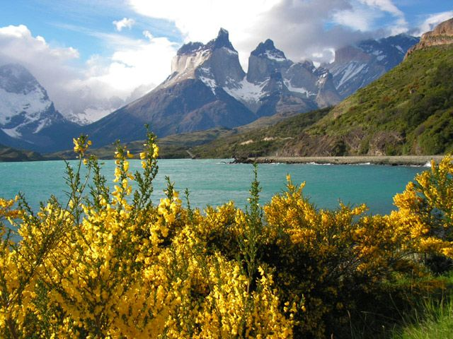 This Picture Is Of A National Park In Chile Named Torres Del