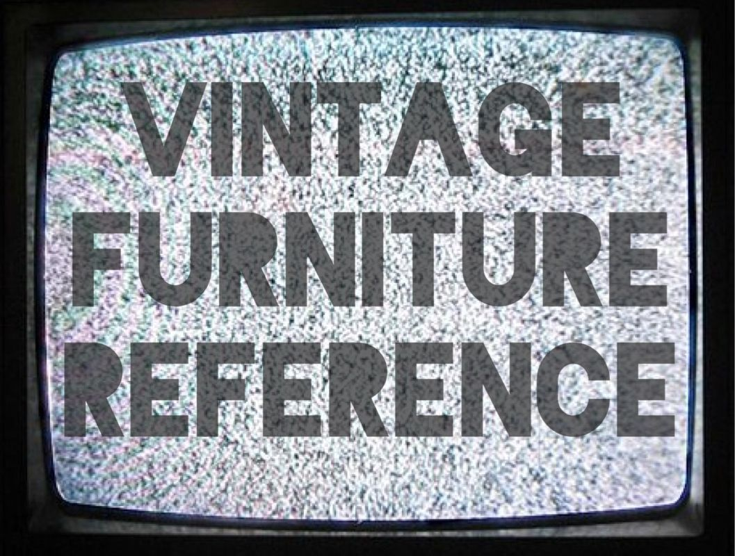 Reference Guides about vintage furniture