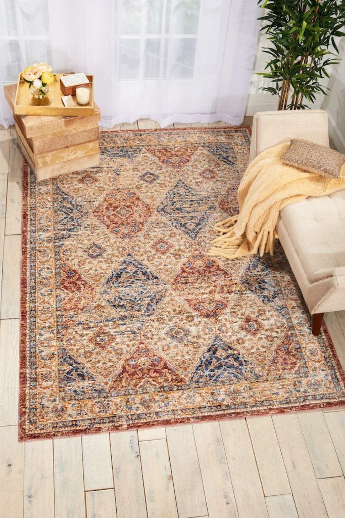 Lagos Multi Lag05 Area Rugs Nourison Round Carpet Living Room #round #carpets #for #living #room
