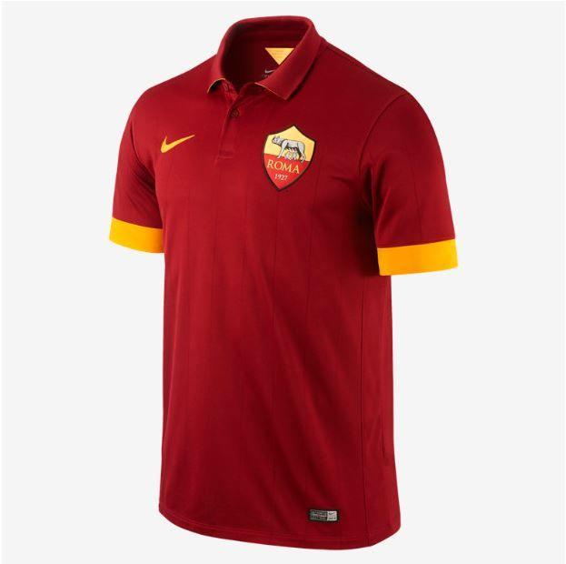 AS Roma Home Kit 2014 2015  23f21fa8653