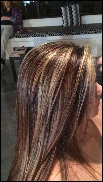 20 Atemberaubende Braune Haare Mit Blonden Strahnen Meine Frisuren Blonde Strahnen Braune Haare Haarfarben