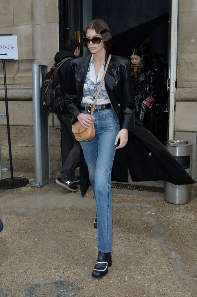 Kaia Gerber - Out The Chloe Fashion Show in Paris 02-26-2020... –  #KaiaGerber #celeb #celebrity #awesome #nice #fashion #girl #london #dish #breakfast #photo #nyc #ny #boot #hair #nail #dress #red #pink