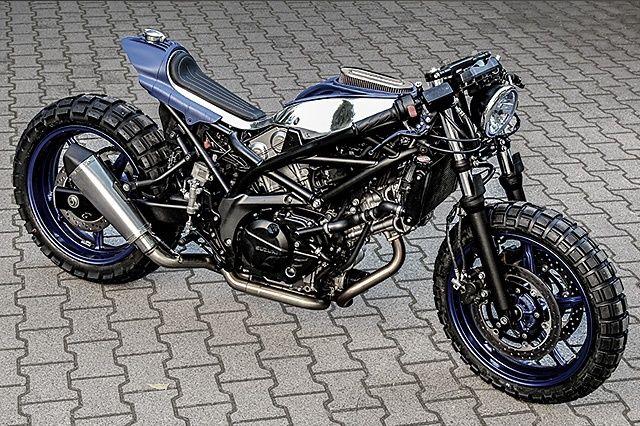 Krautmotors: кастом Suzuki SV650 Little Bastard