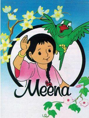Meena Tv Cultura Com Imagens Desenhos Anos 90 Melhores