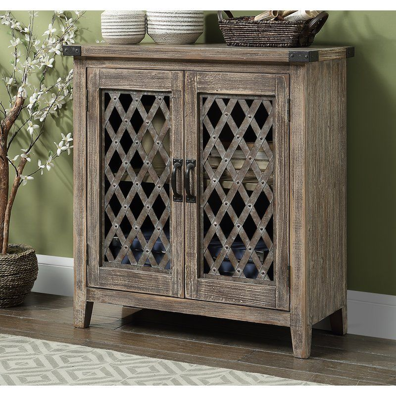 Gracie Oaks Meehan 2 Door Accent Cabinet Reviews Wayfair Accent Doors Accent Cabinet Accent Chests And Cabinets
