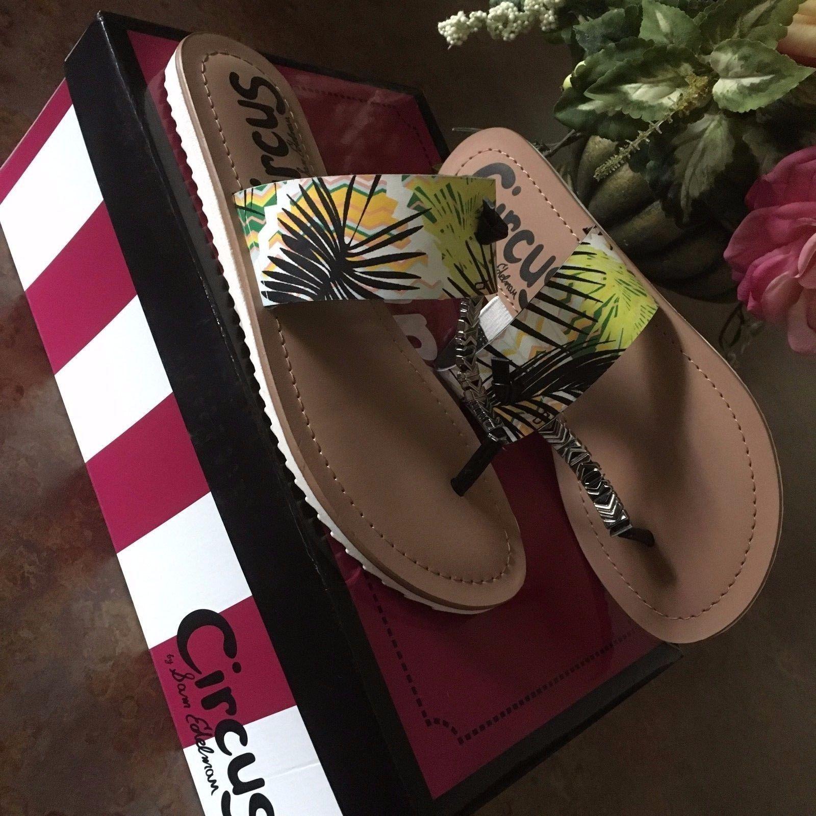 a76d435b0b1a Circus by Sam Edelman Saxon Thong Flip Flop Women s Display Model Sandals  Size 6