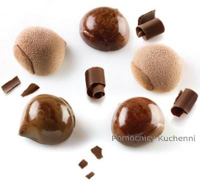 Marron silikomart Moule /à Chocolat Flamme